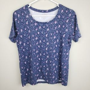 White Stag | Floral Print Short Sleeve Tee